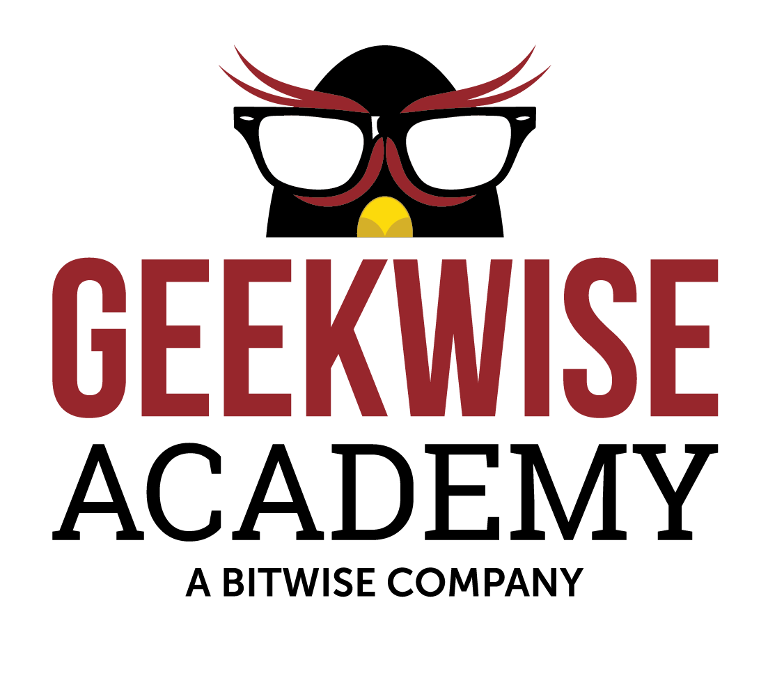 The Geekwise Academy logo